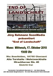 "Dokumentarfilm ""End of Landschaft"" am 17. Oktober in Beerfelden"