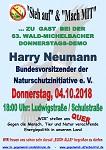 63. Wald-Michelbacher Donnerstags-Demo am 04. Oktober 2018