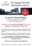 """Premiere von """"In einem Dreivierteljahr"""" in Beerfurth am 8. und 9. Dezember"""