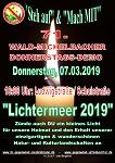 71. Wald-Michelbacher Donnerstagsdemo und Lichtermeer am 07. März 2019