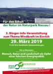 Vortrag mit Harry Neumann (NI) in Katzenelnbogen am 29.03.2019