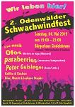 2. Odenwälder Schwachwindfest am 04. Mai 2019