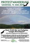 """Protestwanderung """"Für einen windkraftfreien Odenwald"""" am 11. Mai"""