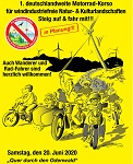 1. Motorrad-Korso in Planung: Anmeldung bis 30. Dezember 2019 – Termin  20. Juni 2020