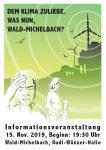 Info-Veranstaltung in Wald-Michelbach am 15. November