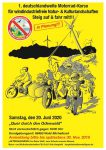 1. Motorrad-Korso in Planung: Anmeldung bis 30. November 2019 – Termin  20. Juni 2020
