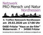 """""""Netzwerk Nordhessen"""" Treffen am Samstag, 29. Februar in Fritzlar"""
