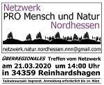 """FÄLLT AUS! Überregionales Treffen """"Netzwerk Nordhessen"""" am Samstag, 21. März in Reinhardshagen"""