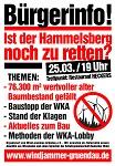 """Fällt aus!!! Info-Veranstaltung am 25. März in Gründau """" Ist der Hammelsberg noch zu retten?"""""""