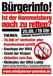 """Info-Veranstaltung am 25. August in Gründau """" Ist der Hammelsberg noch zu retten?"""""""