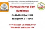 VERNUNFTKRAFT ruft zur Mahnwache am 18. September in Berlin auf