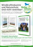 """Buchtipp: Denkschrift """"Windkraftindustrie und Naturschutz sind nicht vereinbar!"""" Neuausgabe ab sorfort erhältlich"""