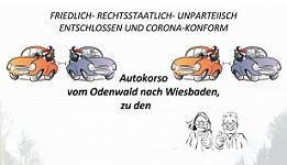 12. März 2021 – AUTOKORSO FÜR EIN WINDINDUSTRIEFREIES HESSENLAND