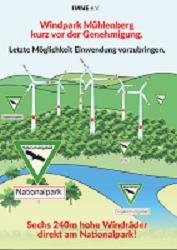 """Edersee: Wind""""park"""" Mühlenberg in der Offenlegung! Stellungnahmen bis 30. April möglich!"""